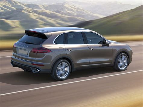 porsche car 2017 new 2017 porsche cayenne price photos reviews safety