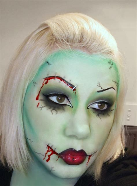 tutorial makeup zombie girl costumes r us i m so excited for a zombie road trip