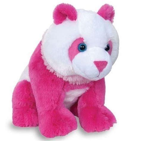 Panda Pink by 10 Quot Pose Pink Panda Plush Stuffed Animal Soft Ebay