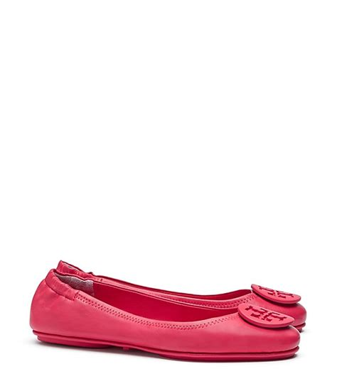Tb Minnie Travel Ballet Flat burch minnie travel ballet flat leather s