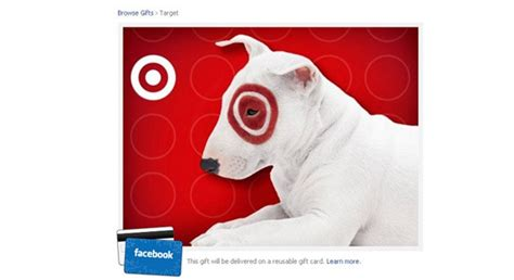 Discover Gift Card Partners - target and facebook team up for gift cards