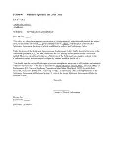 Full And Final Settlement Offer Letter Template Settlement Offer Letter Sample Related Keywords