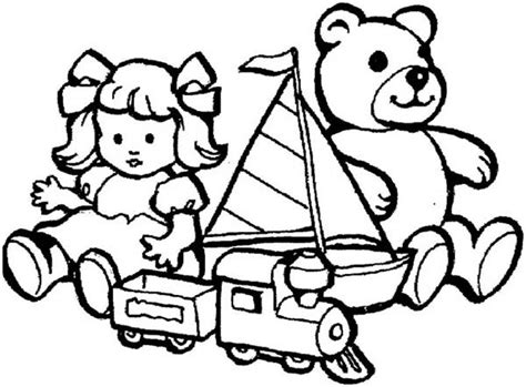 toys coloring page coloring pages ideas reviews
