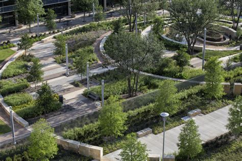 landscape design dallas new parkland hospital studio outside landscape architects