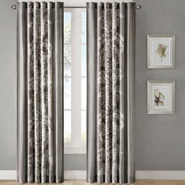 jcpenney home decor curtains ideology florentine rod pocket curtain panel jcpenney