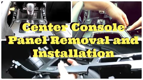 coffey county honda tutorial honda accord center console panel removal and