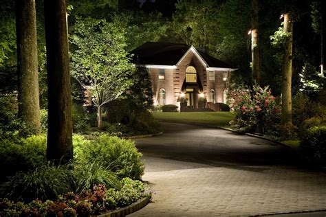 Landscape Lighting Photos Gallery Landscape Hardscape Lighting Archive Tussey Mountain Mulch