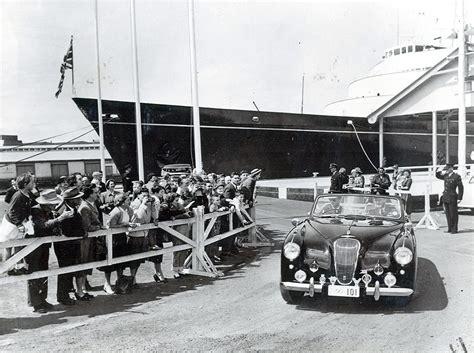 car upholstery edinburgh prince philip s 1954 aston martin with bond style gadgets