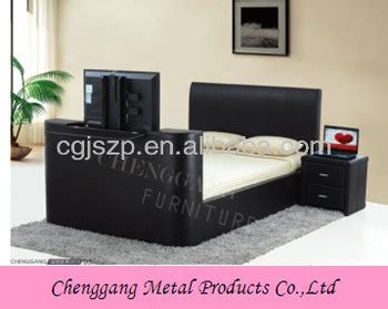 Bed With Tv In Footboard by High Quality Modern Bed Frame With Tv In Footboard Buy