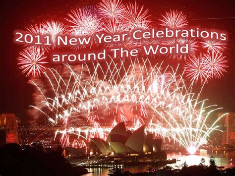 2011 new year celebrations around the world