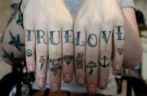 love tattoo on knuckles love tattoos and designs