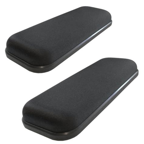armchair pads ultimate gel armrest arm pads for office chairs wheelchairs ebay