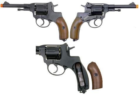 Airsoft Gun Revolver Wingun wingun m1895 nagant co2 powered airsoft revolver