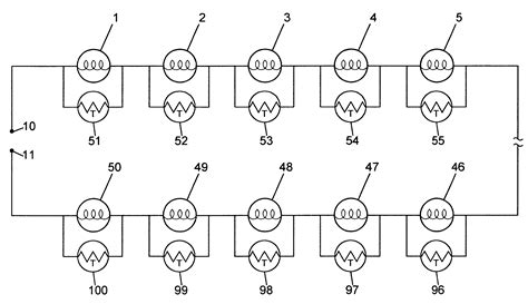 shunt resistor failure patent us6323597 thermistor shunt for series wired light string patents
