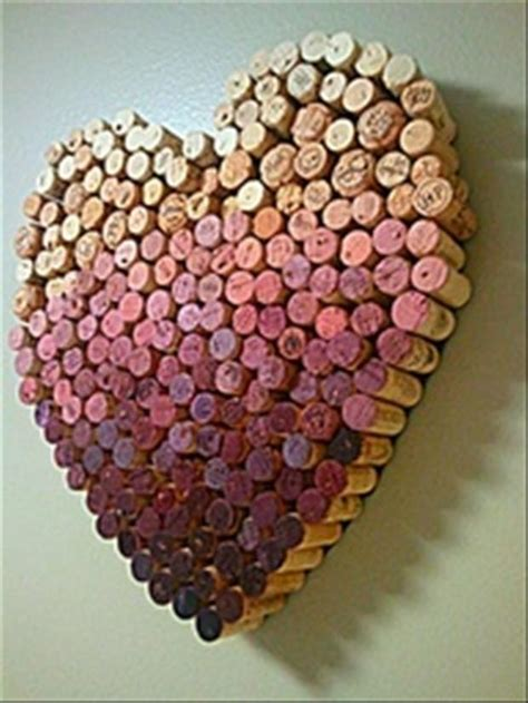wine cork craft projects valentines day crafts with wine corks dump a day