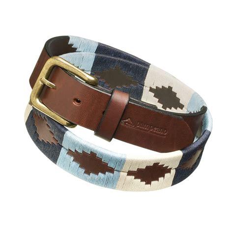argentine polo belts sereno peano