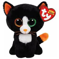 halloween stuffed animals ty frights the black cat halloween beanie boos stuffed