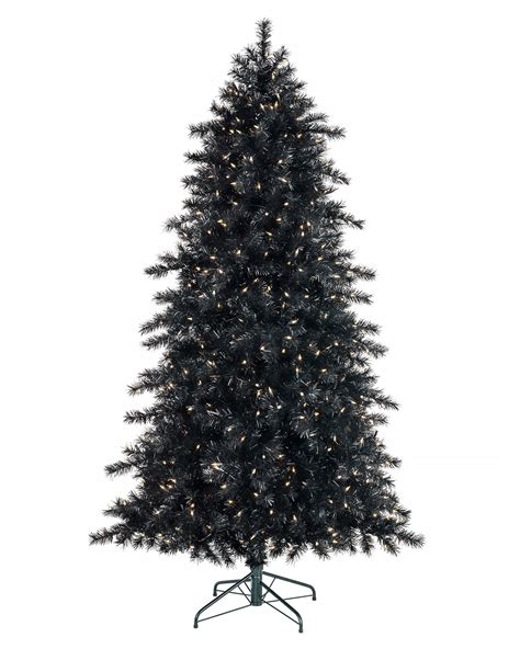 black christmas trees black christmas tree 100 6ft fibre