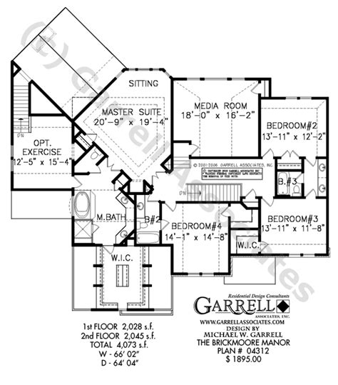 Manor House Plans by Brickmoore Manor House Plan House Plans By Garrell