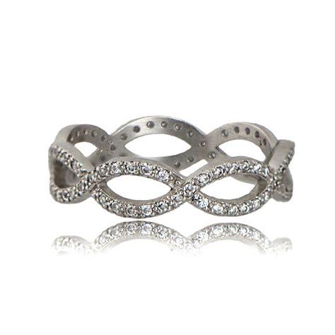 style infinity vintage style infinity wedding band estate jewelry