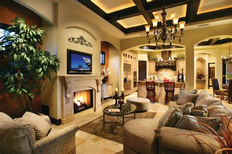 Ferretti House Plan Sater Design Collection S 6786 Quot Ferretti Quot Home Plan Mediterranean Family Room By Sater