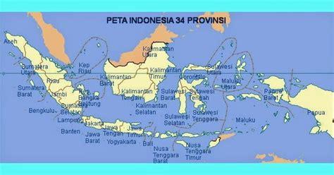 Atlas Indonesia Dunia 34 Provinsi mudah belajar ips smp peta 34 provinsi di indonesia