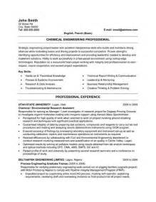 chemical engineering resume sle click here to this chemical engineer resume