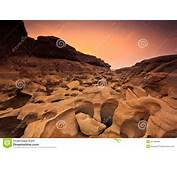 Grand Canyon Of Thailand In The Sunset Royalty Free Stock Photos