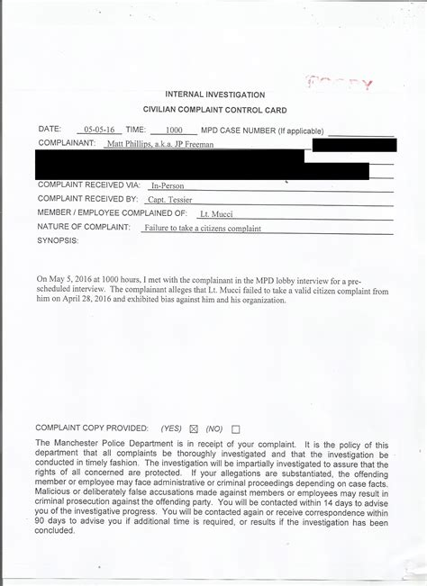 Manchester Nh Arrest Records The Manchester New Hshire Department Condones Theft Cop Block