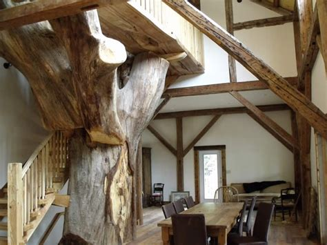 beautiful reclaimed heritage timber frame cottage