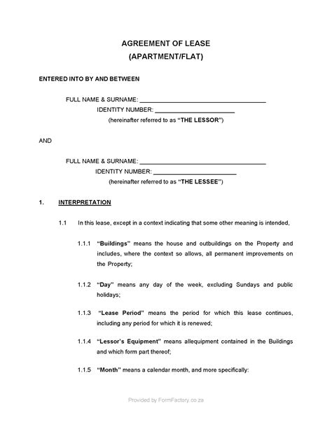 Rental Agreement Letter Sle cancellation of lease agreement template south africa 28