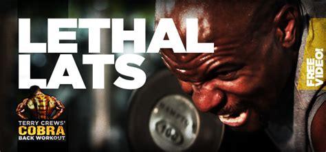 terry crews supplements terry crews cobra back workout review supplement demand