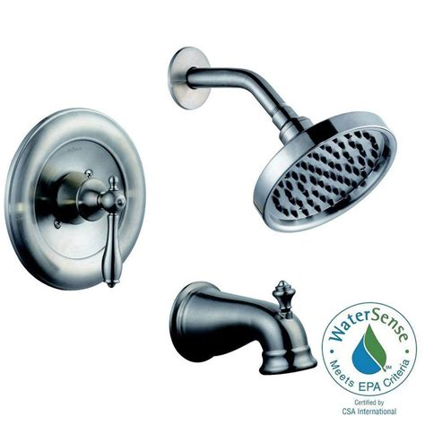 Pegasus Estates Faucet by Pegasus Estates Single Handle 1 Spray Shower Faucet In
