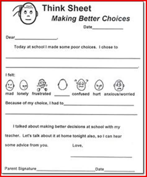 self control worksheets self control worksheets related keywords self control