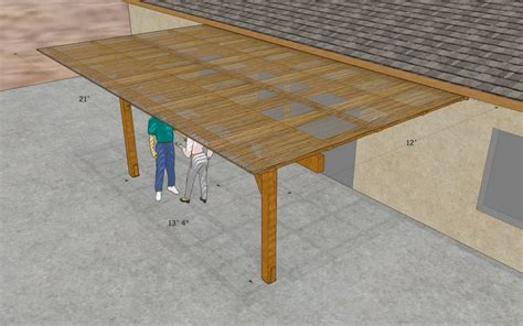 Free Patio Cover Design Plans Woods Building Plans Wood Patio Cover