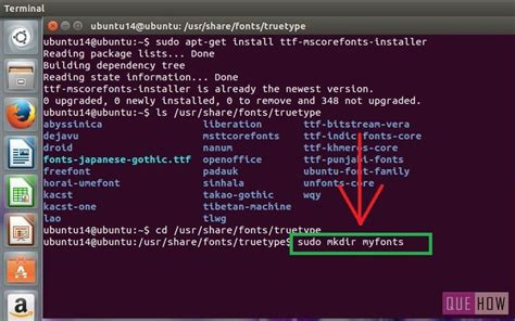 installing xp on ubuntu via terminal how to install truetype fonts in ubuntu 2 methods with