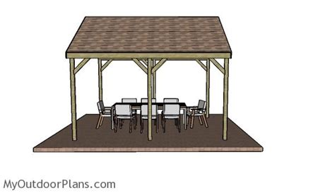 Backyard Bunker Plans by 12x14 Outdoor Shelter Plans Myoutdoorplans Free