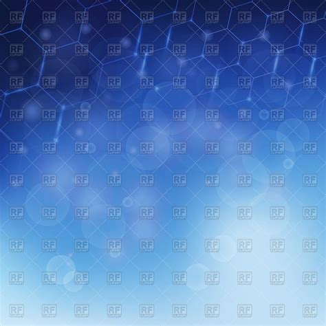 Science Background With Mba by Abstract Blue Scientific Background Molecular Structure
