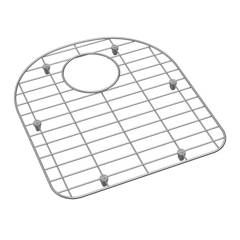 Kitchen Sink Bottom Grid Elkay Kitchen Sink Bottom Grid Fits Bowl Size 16 In X 17 5 In Gobg1617ss The Home Depot