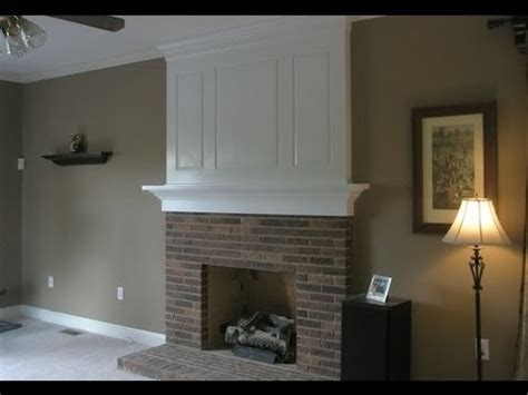 fireplace makeover    youtube