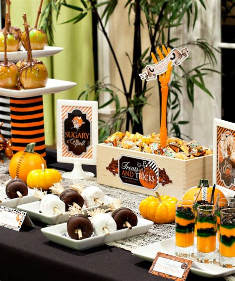 free printable halloween party decorations halloween printables quot spellbound sweets quot hostess with