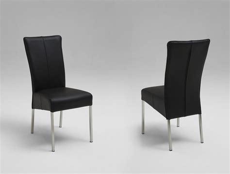 lederstühle esszimmer stuhl esszimmer leder schwarz das beste aus wohndesign