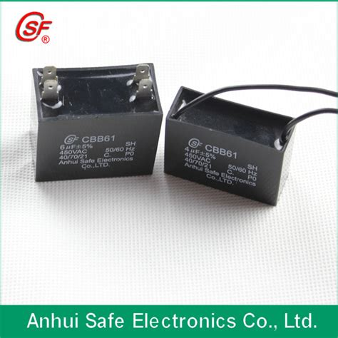 capacitor fan gutor electronic ltd condensateur du ventilateur cbb61 condensateur de ventilateur de plafond condensateur du