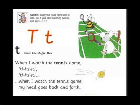 letter t_jolly phonics song youtube