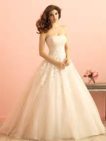ivory lace applique tulle ruched strapless princess ball