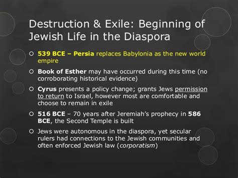 exle biography of a living person the history of the jewish people in 63 slides