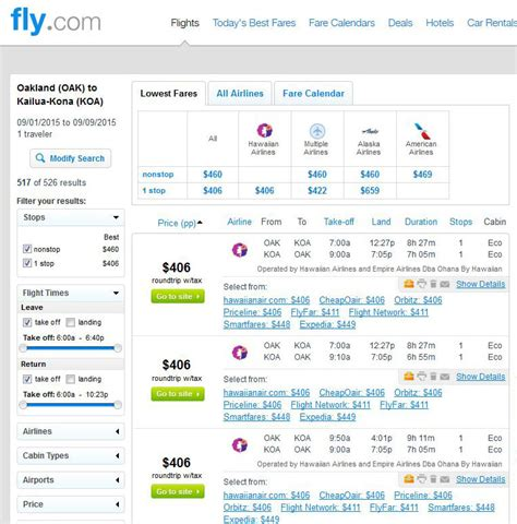 Oakland Search 398 406 Hawaii From San Jose San Diego Oakland R T Fly Travel