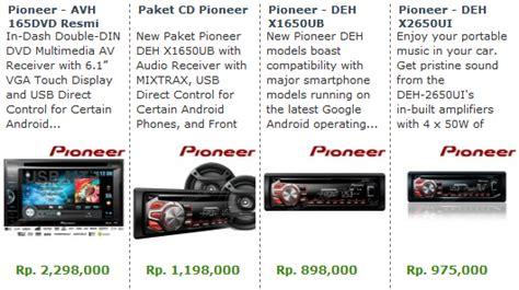 Harga Tv Mobil Merk Rodek daftar harga audio mobil apexwallpapers