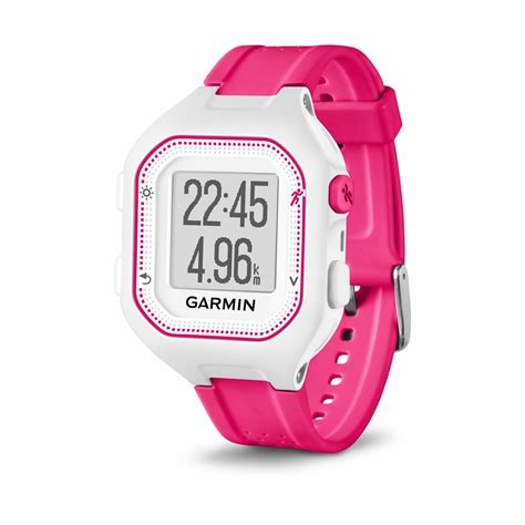 D 010 Diony Pink garmin forerunner 25 gps running small version white pink 010 01353 31