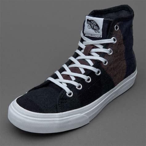Sepatu Vans Sk8 sepatu sneakers vans womens sk8 hi decon wool stripes multi